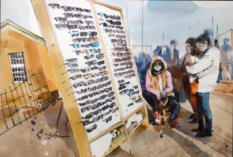 Монгол залуугийн зурсан зураг цахим ертөнцийг шуугиулж байна