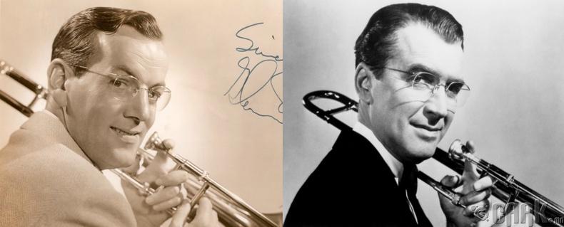"""Жеймс Стюард - """"The Glenn Miller Story"""" кинонд хөгжимчин Гленн Миллерийн дүр"""