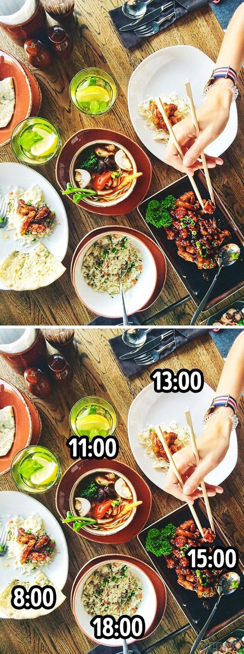 Ойр ойрхон бага багаар хооллох