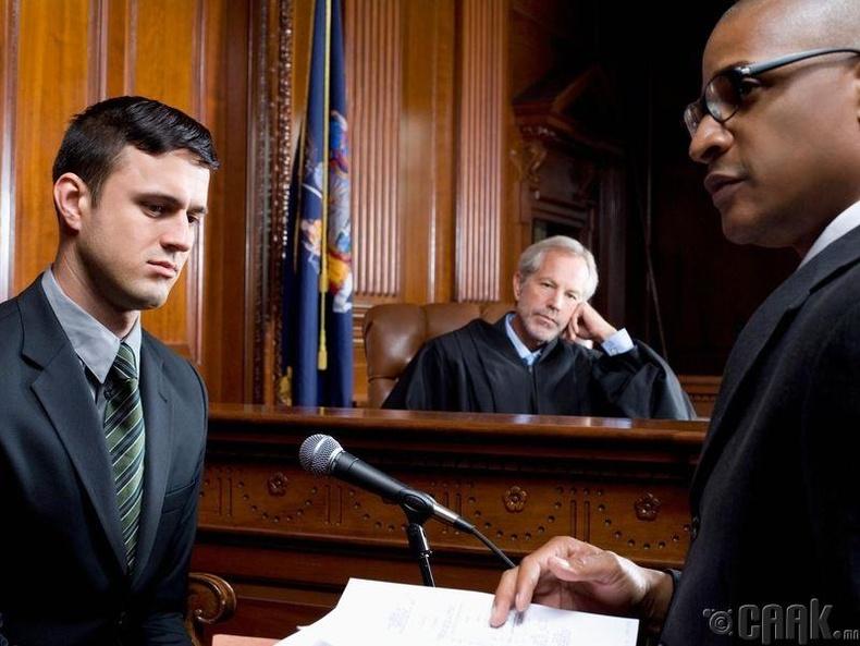 Хууль, эрх зүй (хуульч, өмгөөлөгч, шүүгч)