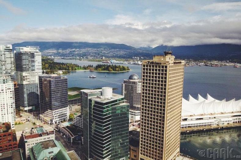 Ванкувер хот (Канад) -97.3 оноо