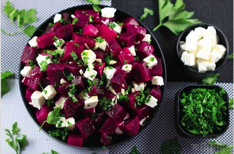 Хүрэн манжингийн салат