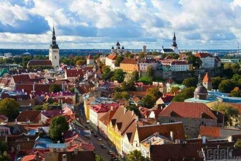 Шашин шүтдэггүй иргэдийн тоогоор Эстони улс тэргүүлдэг
