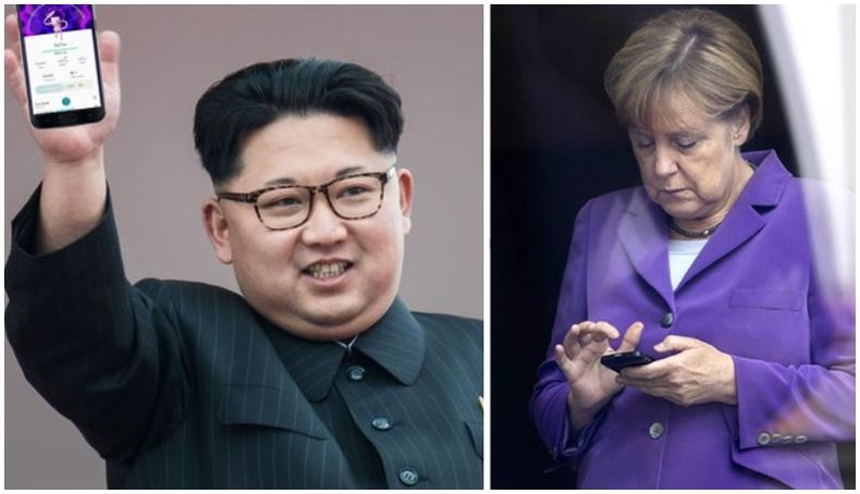 Дэлхийн удирдагчид ямар брэндийн утас барьдаг вэ?