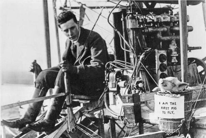 Агаарт ниссэн анхны гахай, 1909 он
