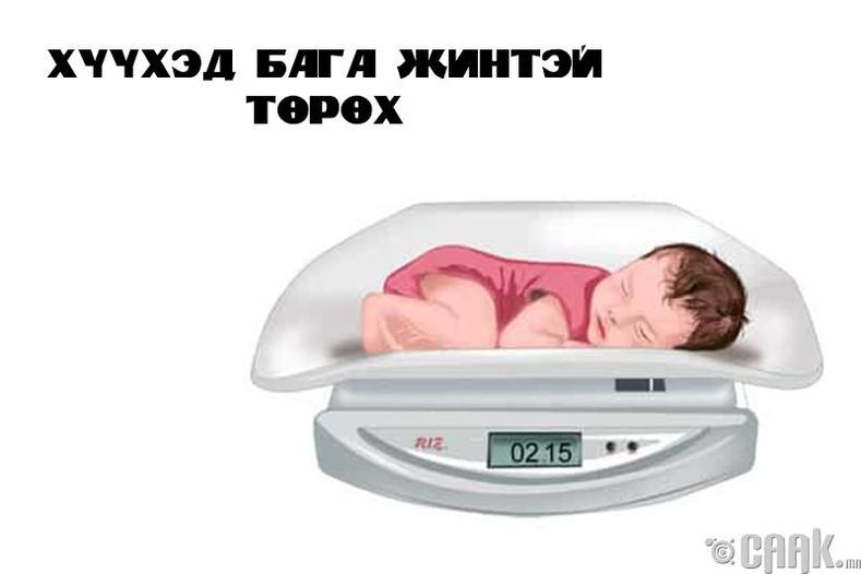 Хүүхэд бага жинтэй төрөх