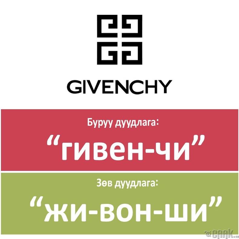 """Givenchy"""