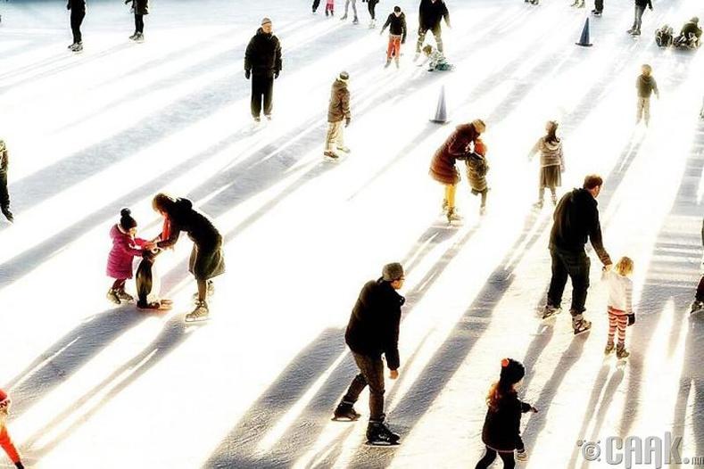 Нью-Йоркын уран гулгалтын талбай - Гэрэл зурагчин Фелисе Симон (Felice Simon)