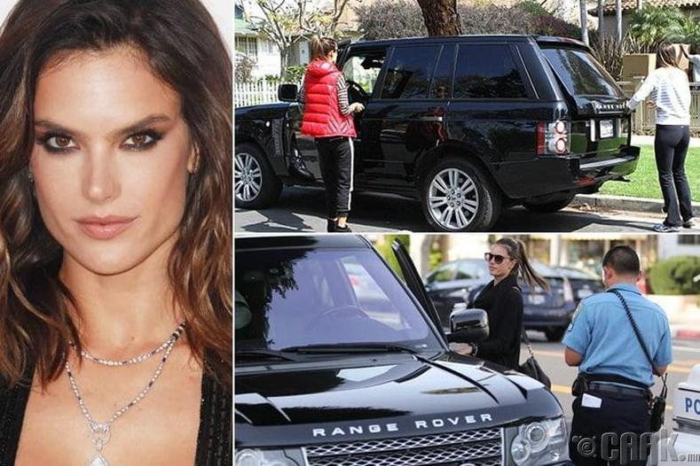 "Алессандра Амбросио – ""Range Rover SUV"" - $100 мянга"