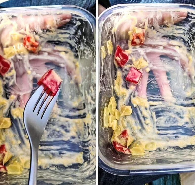 """""""Өчигдөр хайгаад олоогүй флашын тагийг өнөөдөр салат идэж байхдаа оллоо. Яг улаан чинжүү шиг харагдсан"""""""