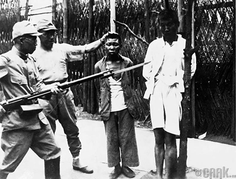 Япон Хятадын дайн - Маниллагийн сүйрэл