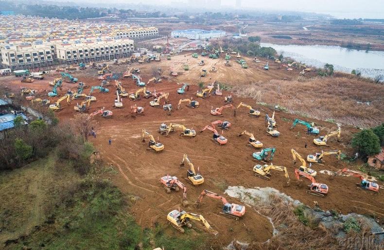 1-р сарын 24-ны өдөр барилгын ажил эхэлсэн