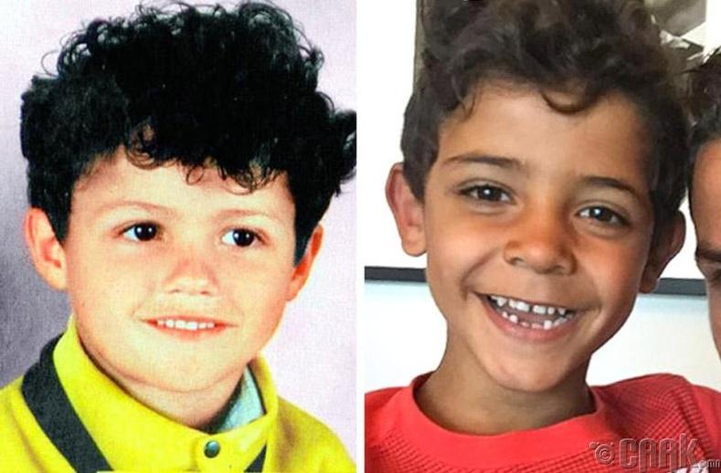 Хөлбөмбөгч Кристиано Рональдо (Cristiano Ronaldo) болон түүний хүү