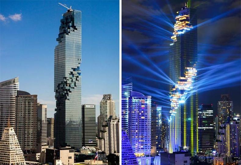 """Бангкок дахь """"Маханахон"""" тэнгэр баганадсан барилга"""