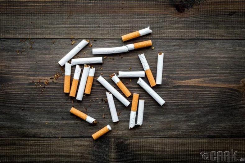 Тамхи хорт хавдар үүсгэдэг