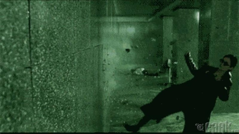 """""""The Matrix"""" буудалцаан"""