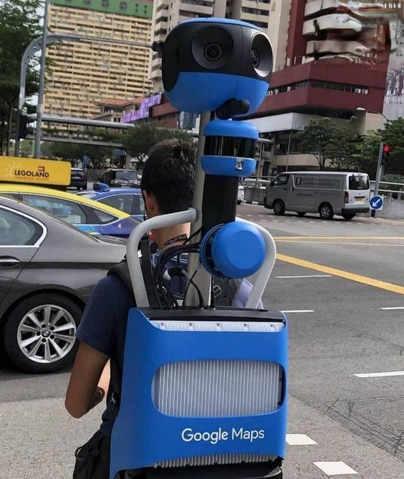Google Street View-ийн зургийг авдаг төхөөрөмж