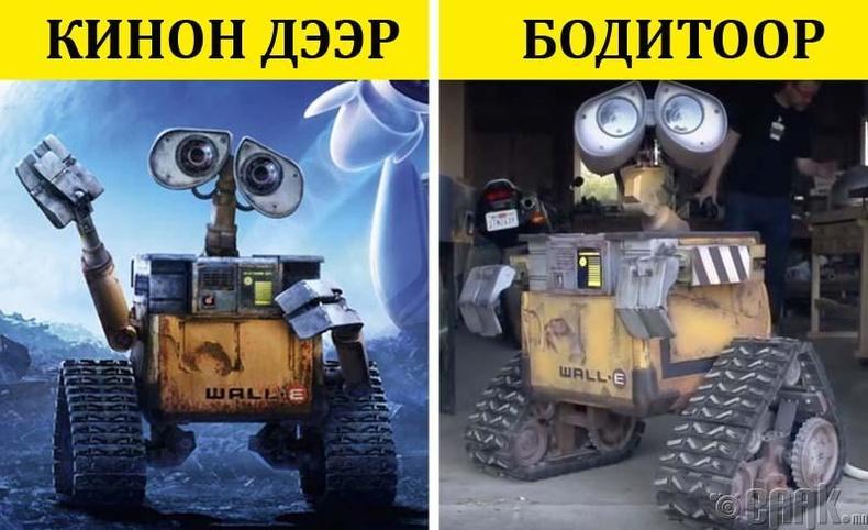 WALL-I робот