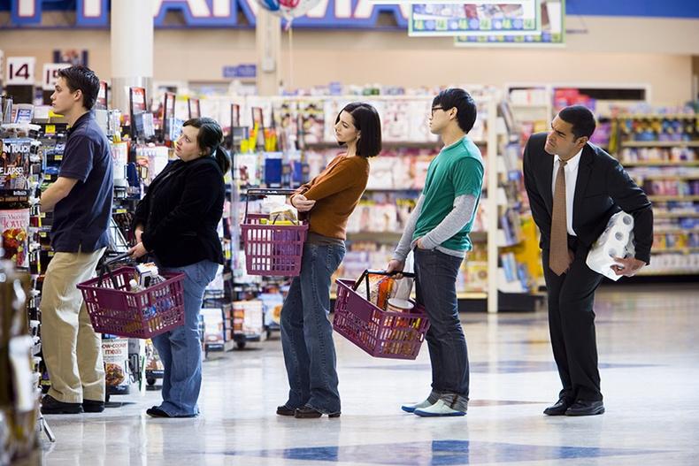 Супермаркетаар урт дараалалгүй үйлчлүүлэх сонирхолтой арга
