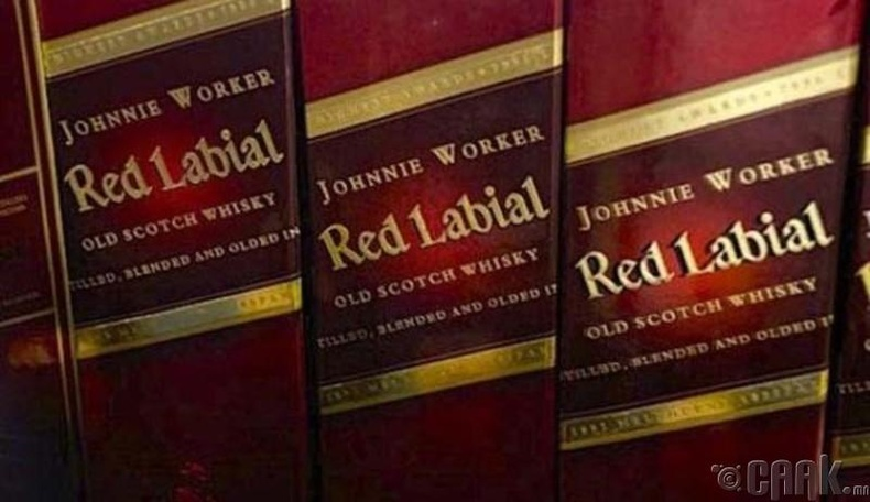 """Johnnie Worker"" виски"