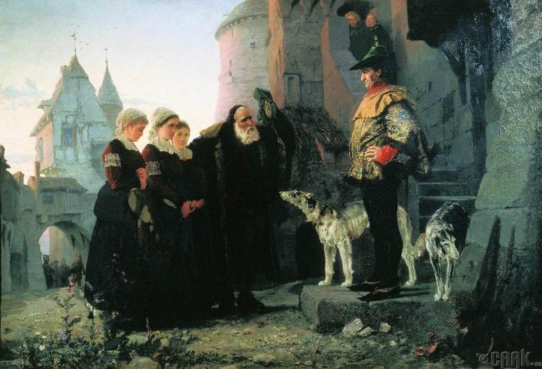 """""""Анхны шөнийн эрх"""" - Дундад зууны Европ"""