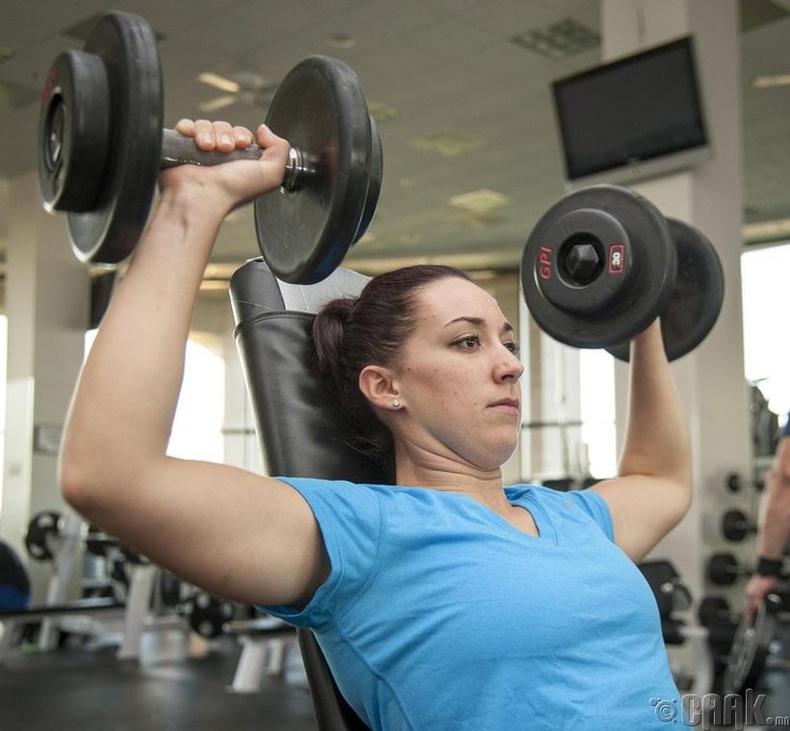Эмэгтэйчүүдийн булчин илүү хүчтэй