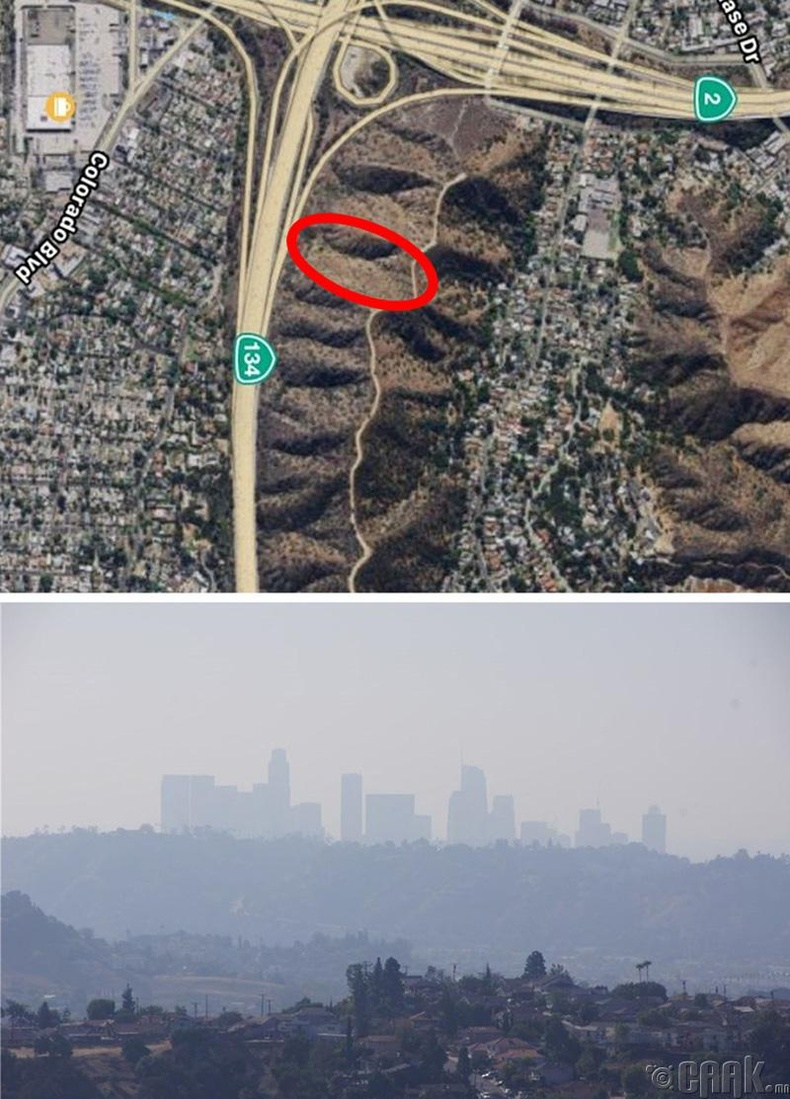 АНУ, Лос Анжелес хот - 64 акр газар