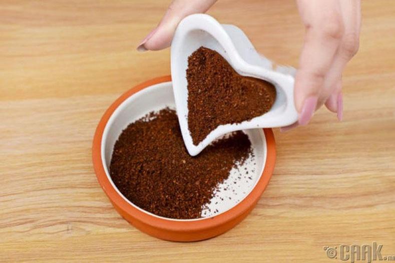 Кофе болон кокосын тосоор скраб бэлтгэх