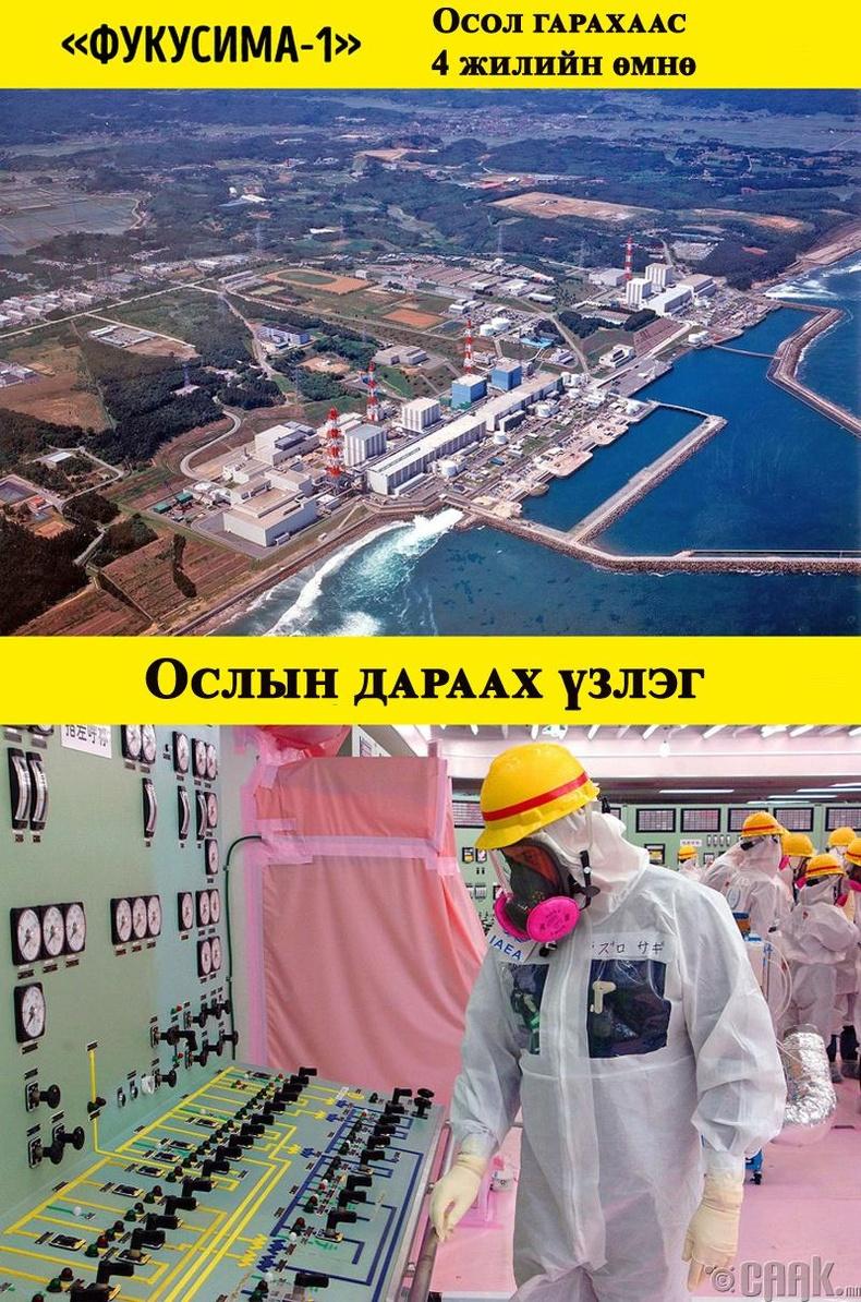 Фукушимагийн станц дээр робот хүртэл үхдэг