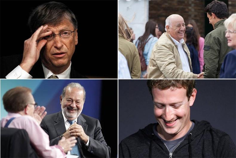 Дэлхийн хамгийн баян 10 хүн тодорлоо