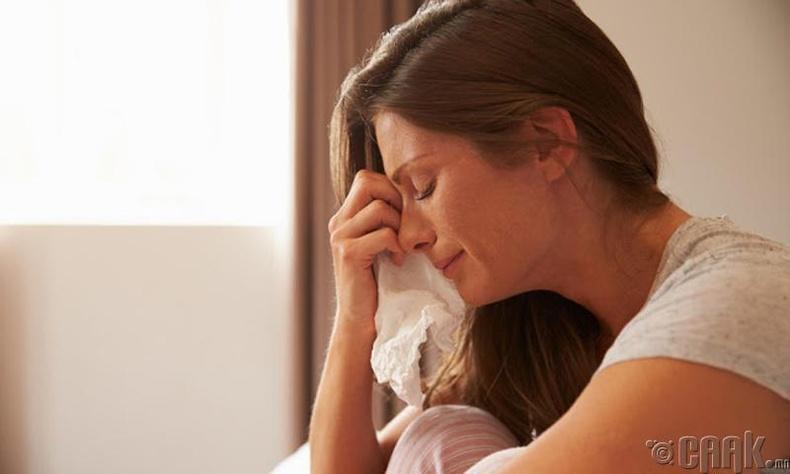 Стрессээс ангижирна