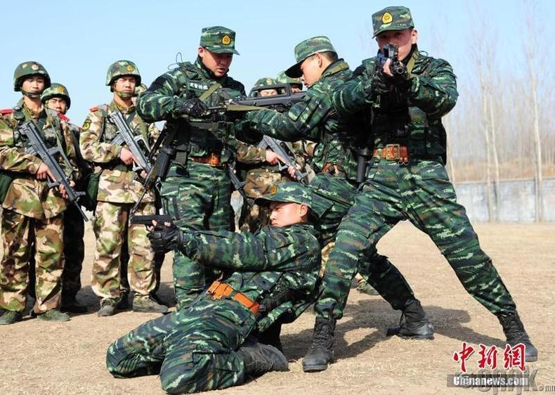 Хятадын ардын зэвсэгт цагдаа