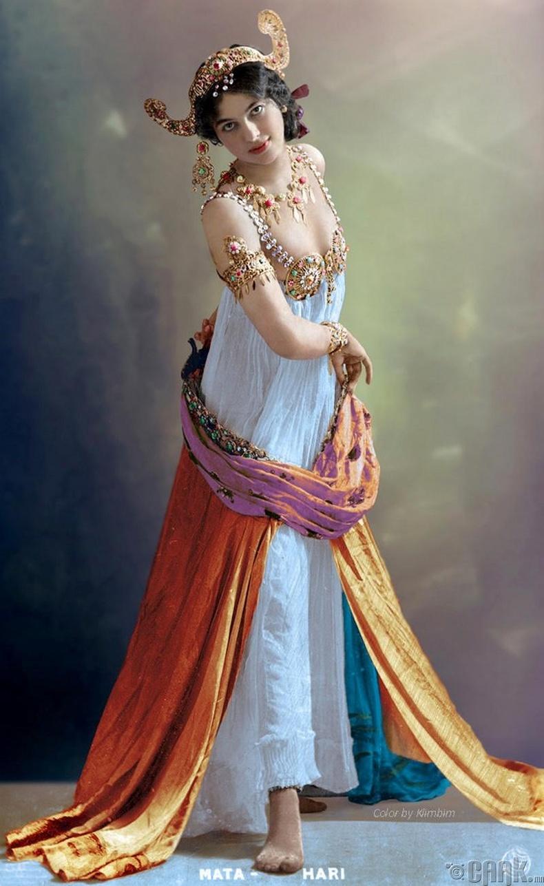 Тагнуулч Мата Хари (Mata Hari) - 1899 он