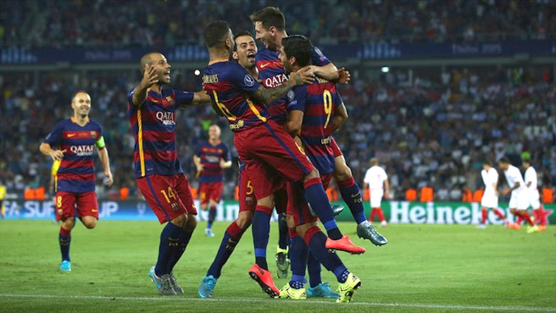 Барселона клуб УЕФА-гийн Супер цомд 5 дахь удаагаа түрүүллээ