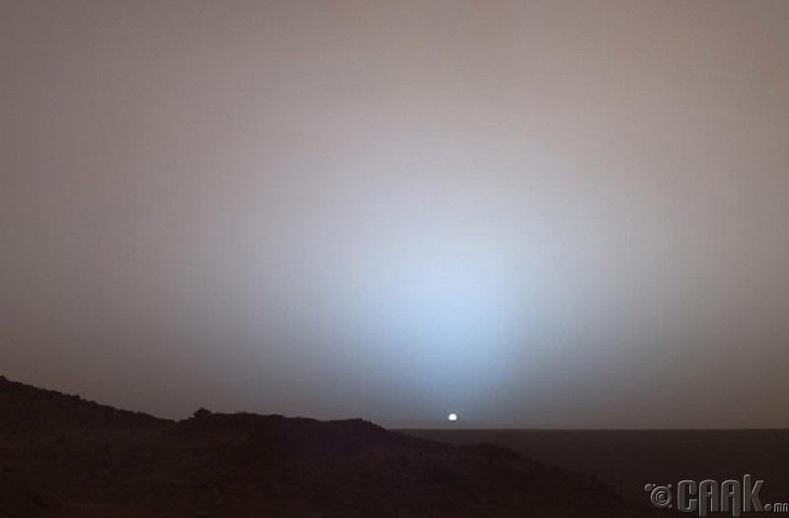 Ангараг дээр нар жаргаж байна (2005 он)