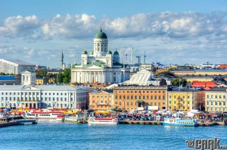 Финланд - 187 орон