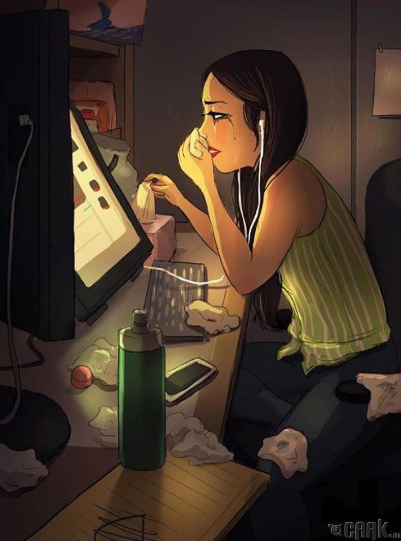Сэтгэл хөдлөлөө барих шаардлагагүй. Уйлмаар байвал уйлж, орилмоор байвал орилж болно