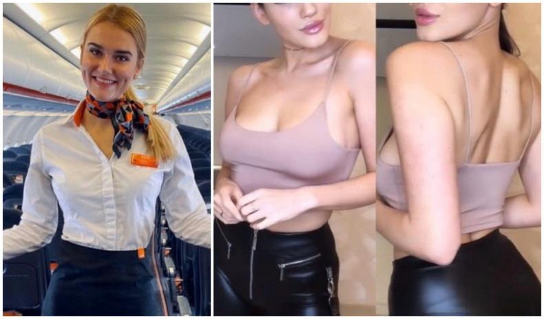 Халуухан онгоцны үйлчлэгч нар дүрэмт хувцасгүйгээр... (30 фото)