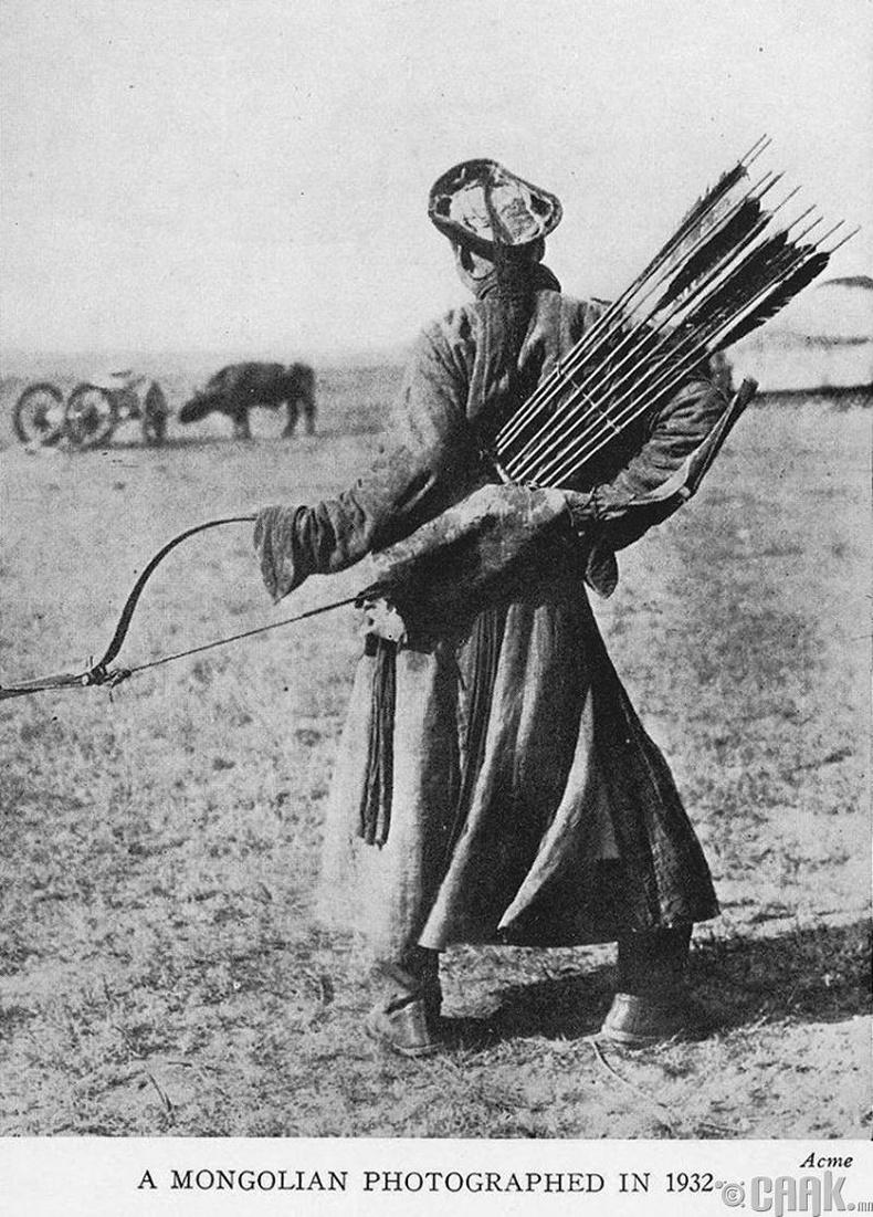 Монгол харваач - 1932 он