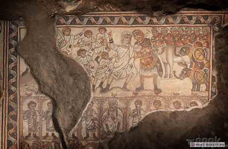 Израилийн Хукок дахь мозаик