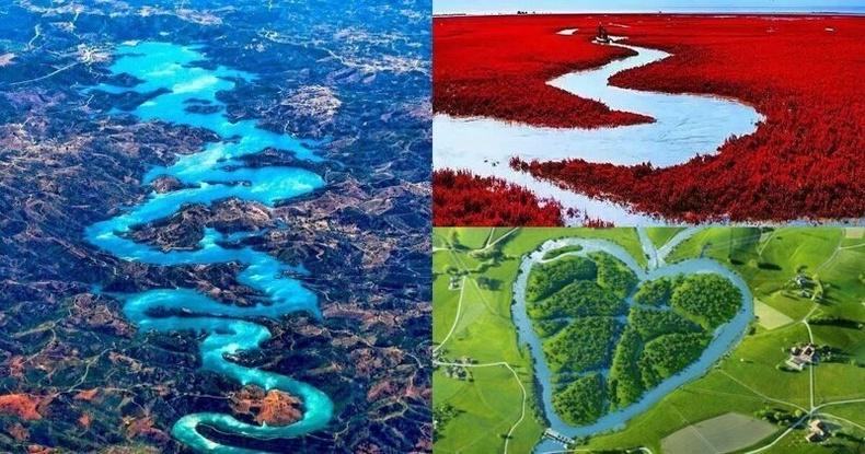 Дэлхийн хамгийн өвөрмөц голууд