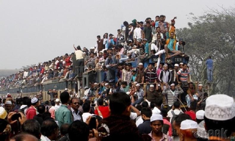 Бангладешийн төмөр зам