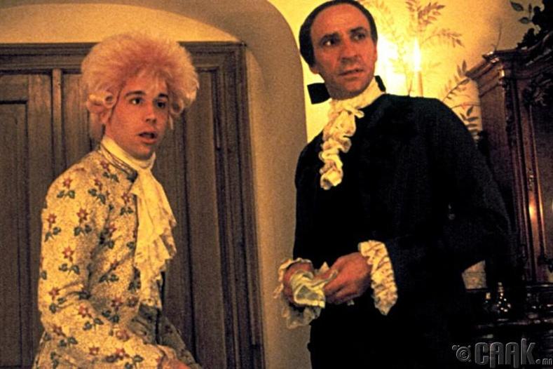 Сальери Моцартыг хордуулсан