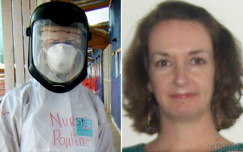 Эбола өвчин туссанаа нуусан