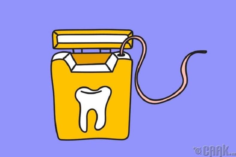 Өдөр бүр шүдээ цэвэрлэх хэрэгтэй юу?