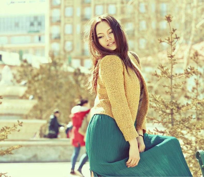 Монголын үзэсгэлэнт охид (100 фото) №130