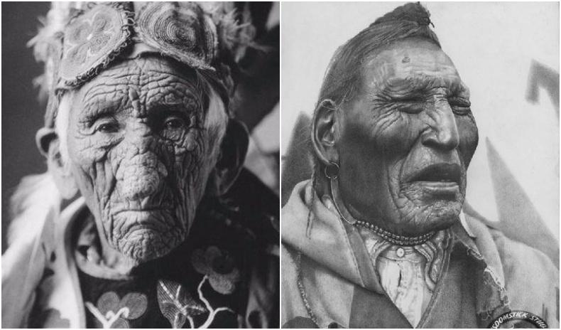 Нөлөө бүхий Уугуул Америкчуудын ховор хөрөг зургууд (20 фото)