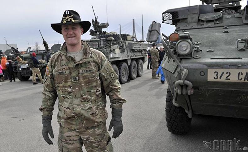 АНУ-ын арми