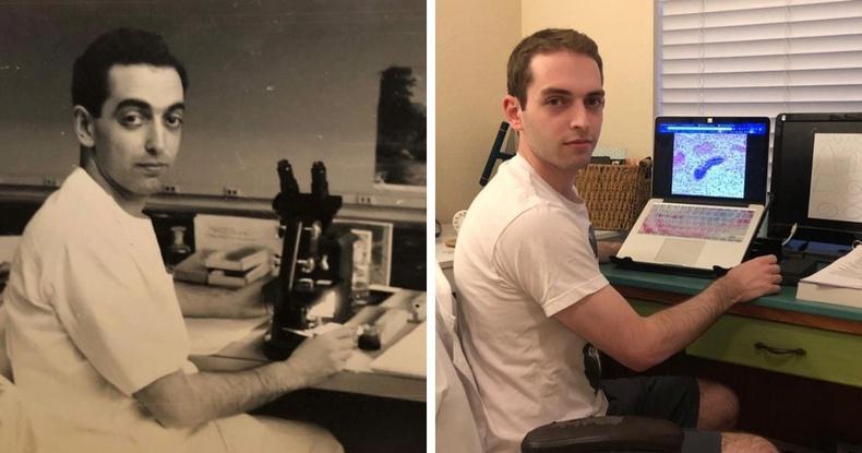 Ач хүү нь өвөөгөөсөө 70 жилийн дараа анагаахын ухаанд суралцаж байгаа нь