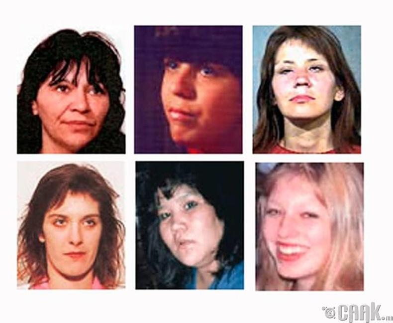 Пиктоны гарт амиа алдсан 6 эмэгтэй